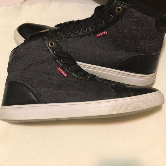 Levi's Shoes | High Top Levi Tennis